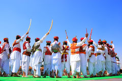Indian men in traditional dress taking part in Mr Desert competition, Jaisalmer, India. Indian men in traditional dress taking part in Mr Desert competition stock photography