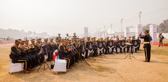 Indian Military Band royalty free stock images