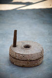 Indian millstone Royalty Free Stock Photography