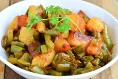 Indian mix curry Stock Photography