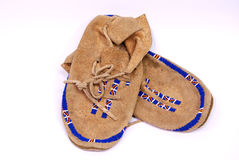 Indian Moccasins Stock Image