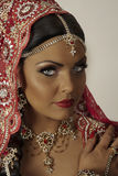 Indian model. Portrait close up face Royalty Free Stock Images