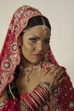 Indian model. Portrait close up face Stock Image