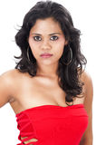 Indian model closeup Royalty Free Stock Photos