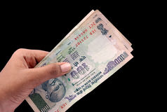 Indian money Royalty Free Stock Images