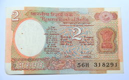 Indian money note. Royalty Free Stock Photos