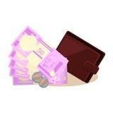 Indian Money Vector Illustration Stock Image