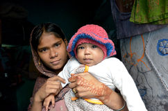 Indian mother Stock Photos