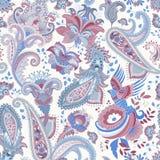 Indian motive. Ethnic ornamental wallpaper. Big decorative flowers. Floral backdrop. Indian motive. Ethnic ornamental wallpaper. Big decorative flowers Stock Photos
