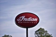 Indian Motorcycle Corporation imagen de archivo libre de regalías