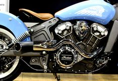 Indian Motorcycle Royalty Free Stock Photography