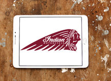 Indian motorcycle logo Stock Image