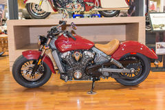 Indian Motorcycle Scout 2015 Royalty Free Stock Photos