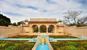 Indian Mughal Garden. In Hamilton Gardens in HDR Stock Photography