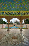 Indian Mughal Garden Royalty Free Stock Photography