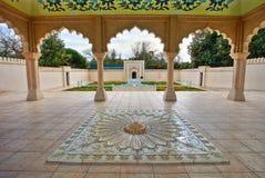 Indian Mughal Garden. In Hamilton Gardens in HDR Stock Photos