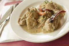 Indian Mughlai Chicken Stock Photos