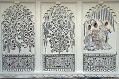 Indian Murals Royalty Free Stock Photo