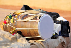 Indian musical instrument'dhol' Royalty Free Stock Photos