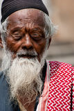 Indian Muslim aged man Stock Photography