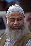 Indian Muslim aged man Royalty Free Stock Photos