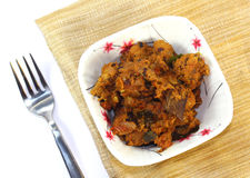 Indian Mutton fry Stock Photography