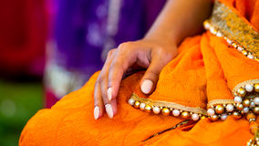 Indian nails Stock Image