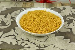INDIAN NAMKEEN RATLAMI NAMKEEN SEV royalty free stock photos