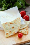 Indian  nan bread Stock Images