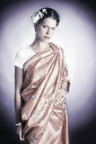 Indian national dress. Woman in asian clothes Stock Photo