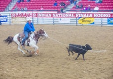 Indian national finals rodeo Stock Photos