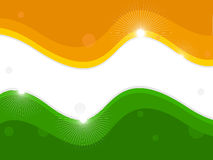 An Indian National Flag. Royalty Free Stock Photos