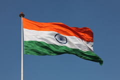 Indian National Flag Royalty Free Stock Images