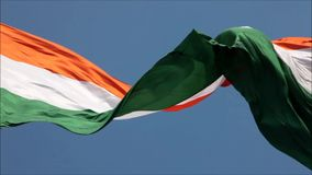 Indian National Flag stock footage