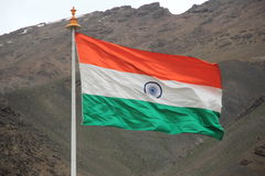 Indian National Flag. Stock Images