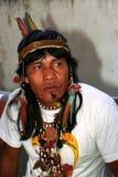 Indian nativo de Brasil imagem de stock