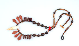 Indian necklace Stock Images