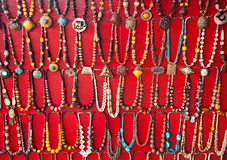 Indian Necklaces Royalty Free Stock Photo