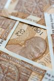 Indian New Ten Rupees Notes Portrait royalty free stock photography