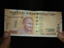 Indian note. Indian new nice note stock photos