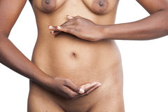 Indian nude model Stock Photography