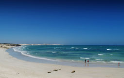 Indian Ocean. Beach view Indian Ocean Taken in South Africa stock photo