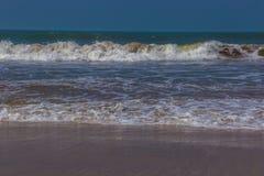 Indian ocean, Arambol beach, Goa, India. 2017 Royalty Free Stock Images