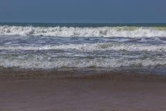 Indian ocean, Arambol beach, Goa, India. 2017 Royalty Free Stock Photo