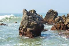 Indian ocean, Arambol beach, Goa, India. Indian ocean, Arambol beach, Goa, Indi Stock Photo