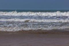 Indian ocean, Arambol beach, Goa, India. 2017n Stock Photo