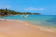 Indian ocean around Mirissa. Sri Lanka stock photos
