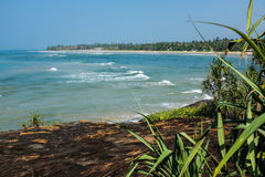 Indian ocean beach Stock Photos