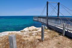 Indian Ocean Bridge Overlook: Cape Peron, Western Australia Royalty Free Stock Image