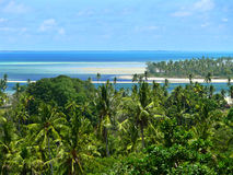 Indian ocean coast. Royalty Free Stock Image